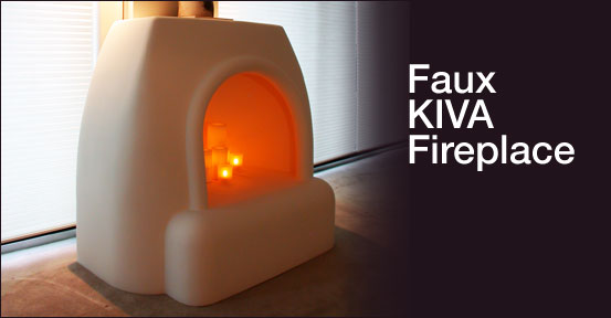 Chicago fiberglass works wicked for Kiva fireplace